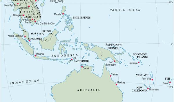 Relations Indo-Pacifiques et extérieures